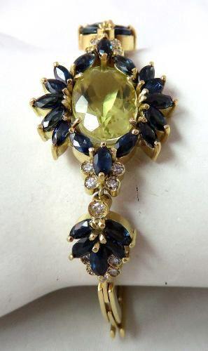 Pulseira De Ouro 18k750 Diamantes Pu20