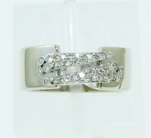 Anel De Ouro 18k750 Diamantes Vivara 2410