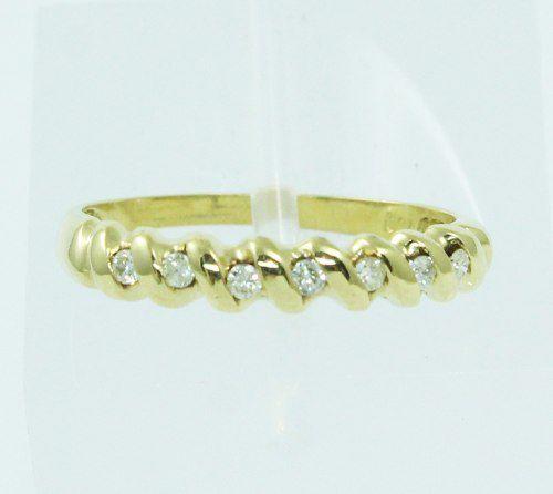 Anel De Ouro 18k750 Diamantes 2415
