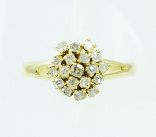Anel De Ouro 18k750 Diamantes 2418