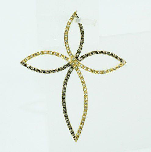 Pingente De Ouro 18k750 Diamantes P681