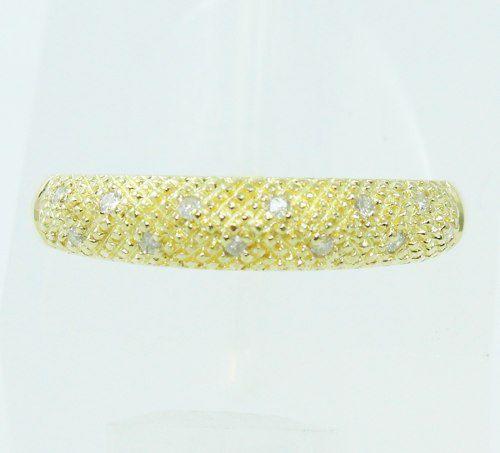 Anel De Ouro 18k750 Diamantes 2426