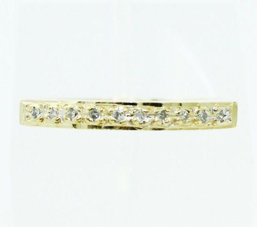Anel De Ouro 18k750 Diamantes 2427