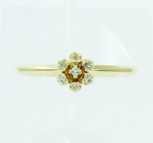 Anel De Ouro 18k750 Diamantes 2431