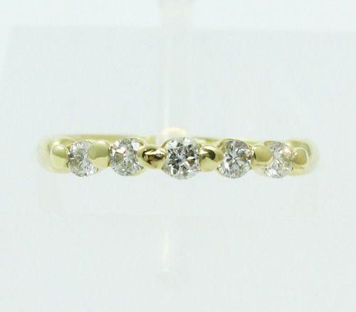 Anel De Ouro 18k750 Diamantes 2433