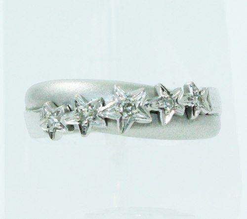 Anel De Ouro 18k750 Diamantes 2452