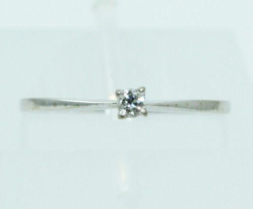Anel De Ouro 18k750 Diamante 2450