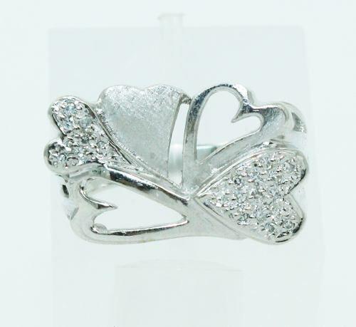 Anel De Ouro 18k750 Diamantes 2453