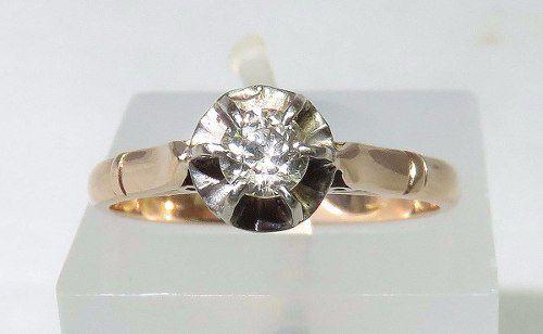 Anel De Ouro 18k750 Diamantes 1163