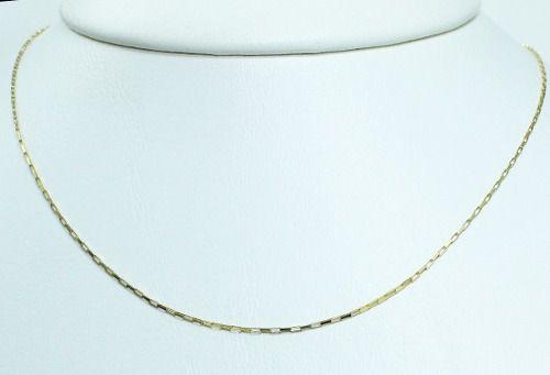 Colar De Ouro 18k75 C265