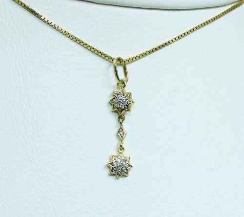 Colar De Ouro 18k75 Diamantes Vivara C264