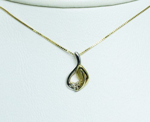 Colar De Ouro 18k750 Diamantes C261