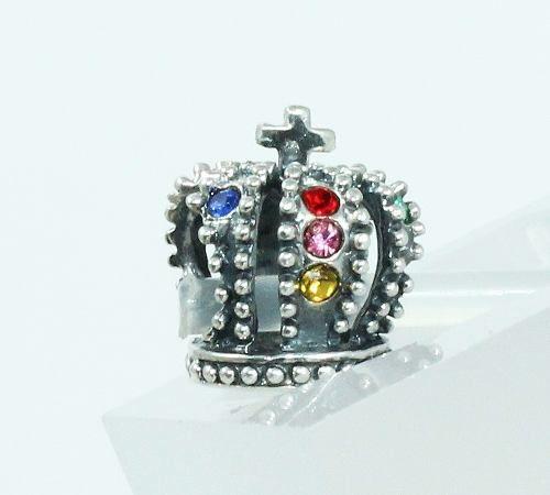 Charm Berloque Coroa Prata 925 C3