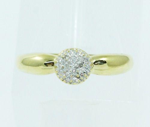 Anel De Ouro 18k750 Diamantes 2458