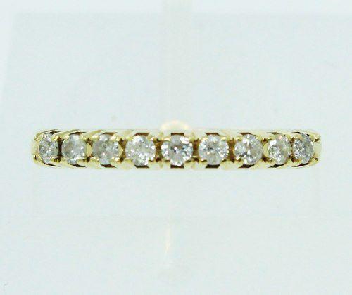 Anel De Ouro 18k750 Diamantes 2463