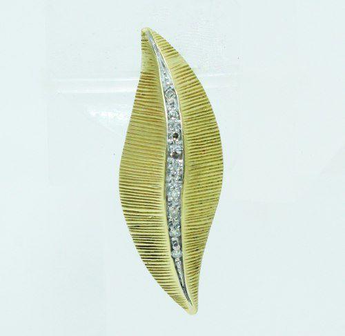 Pingente De Ouro 18k750 Diamantes P691