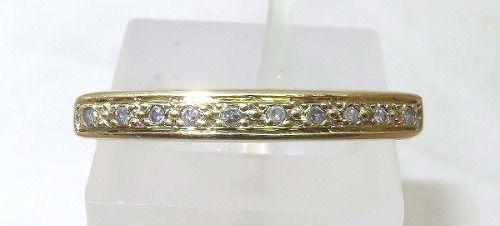 Anel De Ouro 18k750 Diamantes 1007