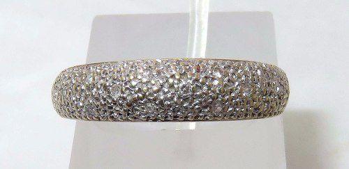 Anel De Ouro 18k750 Diamantes 979