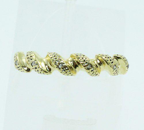 Anel Ouro 18k750 Diamantes 271