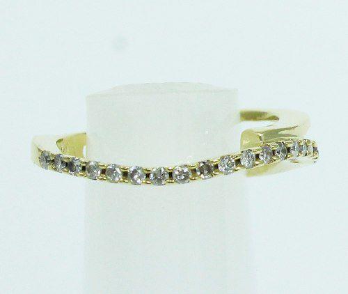 Anel Ouro 18k 750 Diamantes Grife Vivara 575