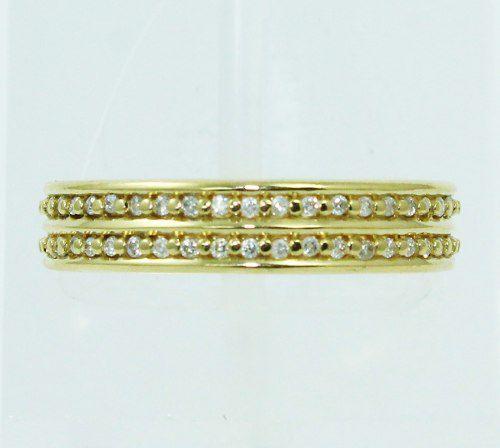 Anel De Ouro 18k750 Vivara Diamantes 2470
