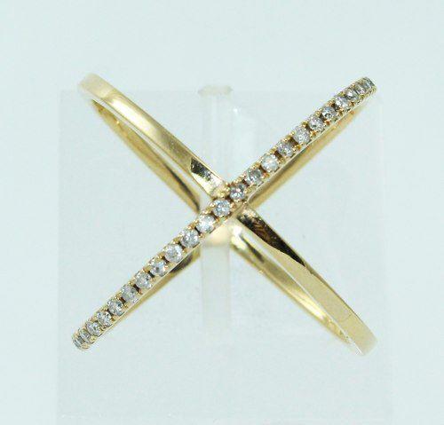 Anel De Ouro 18k750 Diamantes 2468