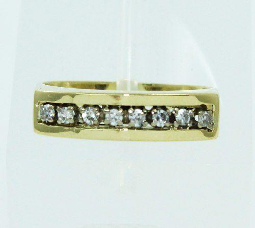 Anel De Ouro 18k750 Diamantes 2466