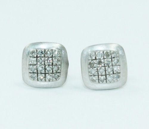 Brinco Ouro Branco 18k750 Vivara Diamantes B871