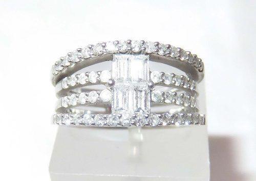 Anel De Ouro 14k Super Pave Diamantes 728