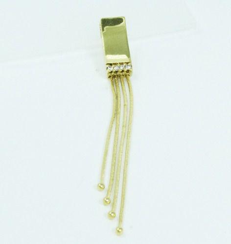 Pingente De Ouro 18k750 Diamantes P623