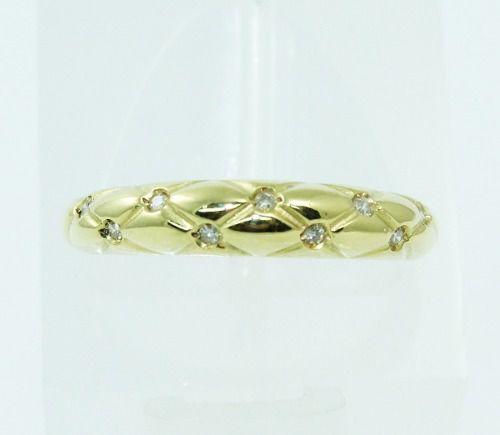 Anel De Ouro 18k 750 Diamantes 106