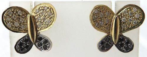 Brincos De Ouro 18k750 Diamantes B203