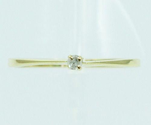 Anel De Ouro 18k750 Diamante 2160