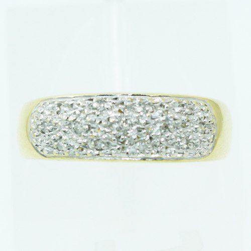 Anel De Ouro 18k750 Diamantes 2503