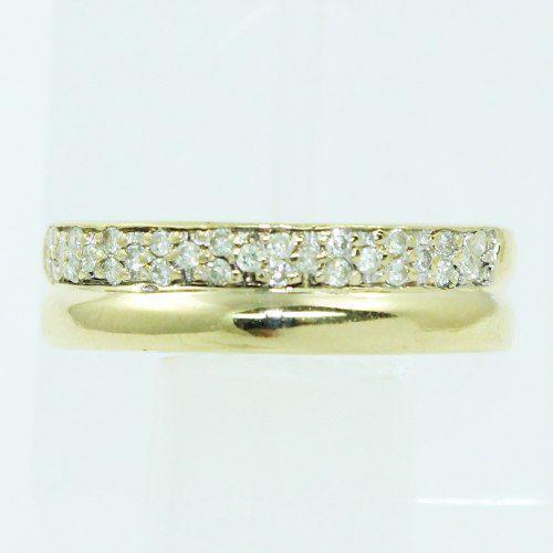 Anel De Ouro 18k750 Diamantes 2502
