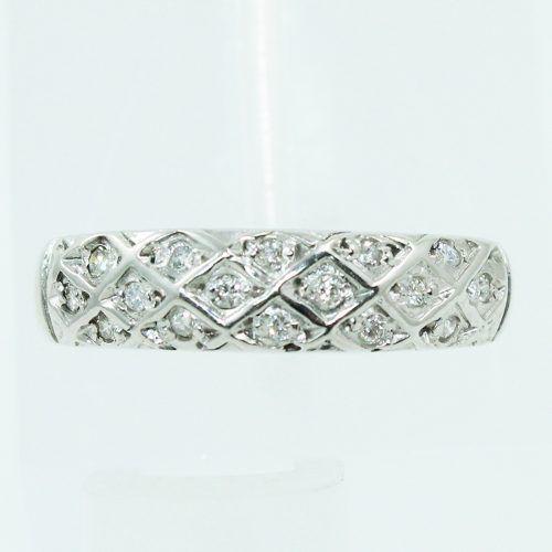 Anel De Ouro 18k750 Diamantes 2500
