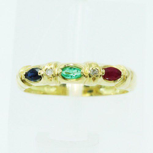 Anel De Ouro Branco 18k750 Diamantes 2512