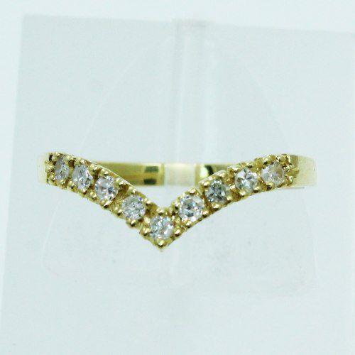 Anel De Ouro 18k750 Diamantes 2534