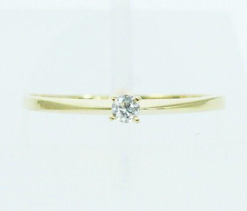Anel De Ouro 18k750 Diamante 2152