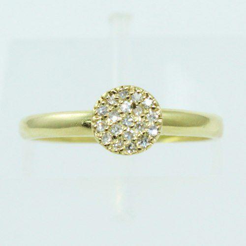 Anel De Ouro 18k750 Diamantes 2555