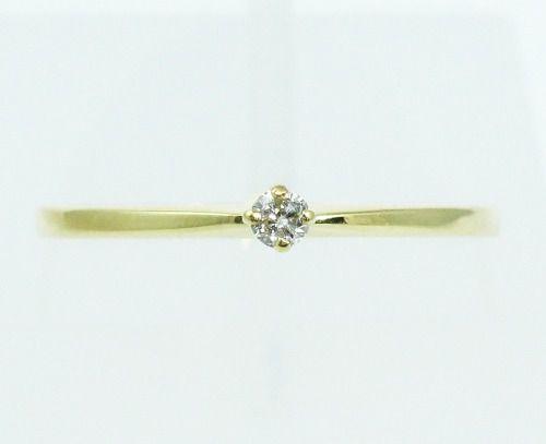 Anel De Ouro 18k750 Diamante 2151
