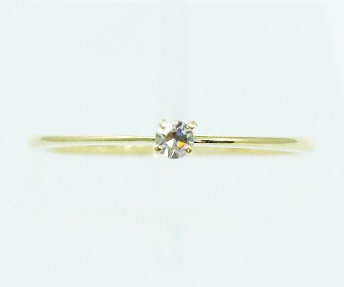 Anel De Ouro 18k750 Diamante 2147