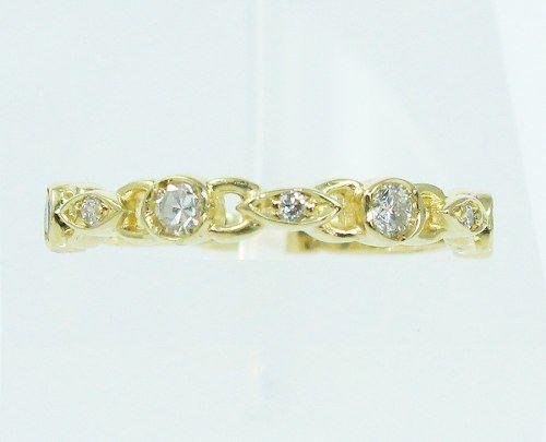 Anel De Ouro 18k750 Diamantes 2150