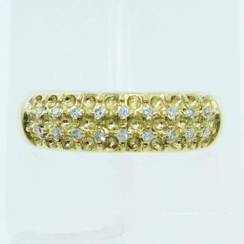 Anel De Ouro 18k750 Diamantes Grife Vivara 484
