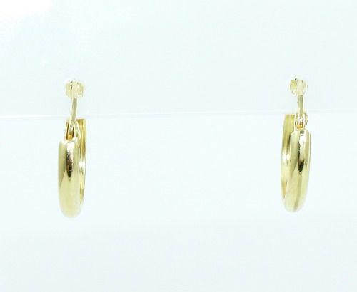 Brincos De Ouro 18k750 Argola B780