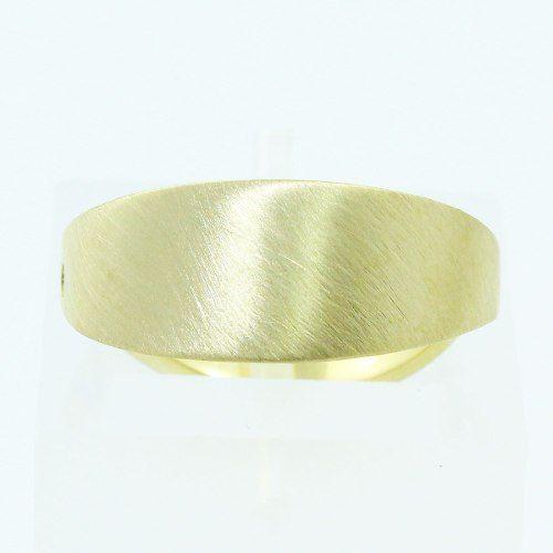 Anel De Ouro 18k750 Diamante Hstern 1656