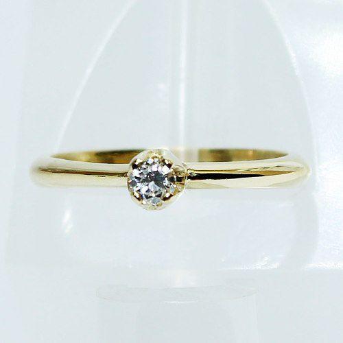 Anel De Ouro 18k750 Diamante Solitário 2604 Sol03