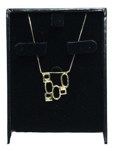 Colar De Ouro 18k750 Diamantes C138