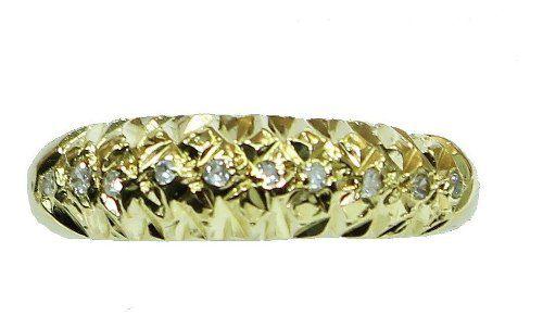 Anel De Ouro 18k750 Diamantes 2624