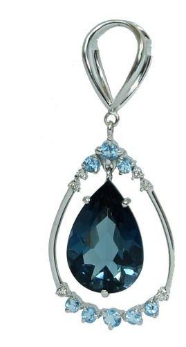 Pingente De Ouro 18k750 Diamantes Grife Vivara P737
